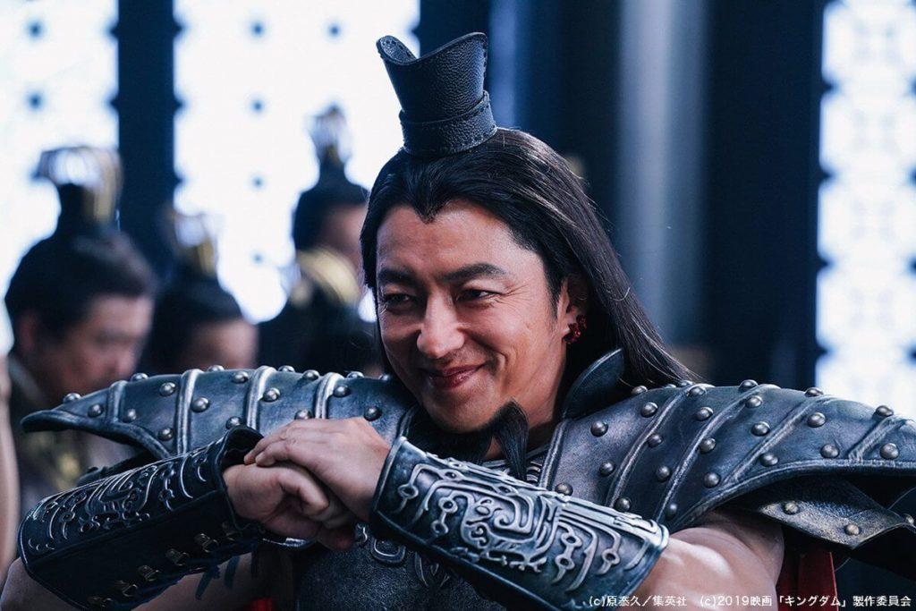 大沢たかおの王騎